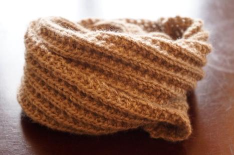 snood tricot cachemire bébé