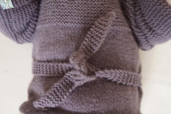 laine ensemble gilet caleçon tricot bergère de france 2